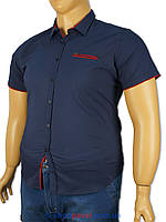 Рубашка мужская большого размера Еnisse EGK51343-KZ1292V3