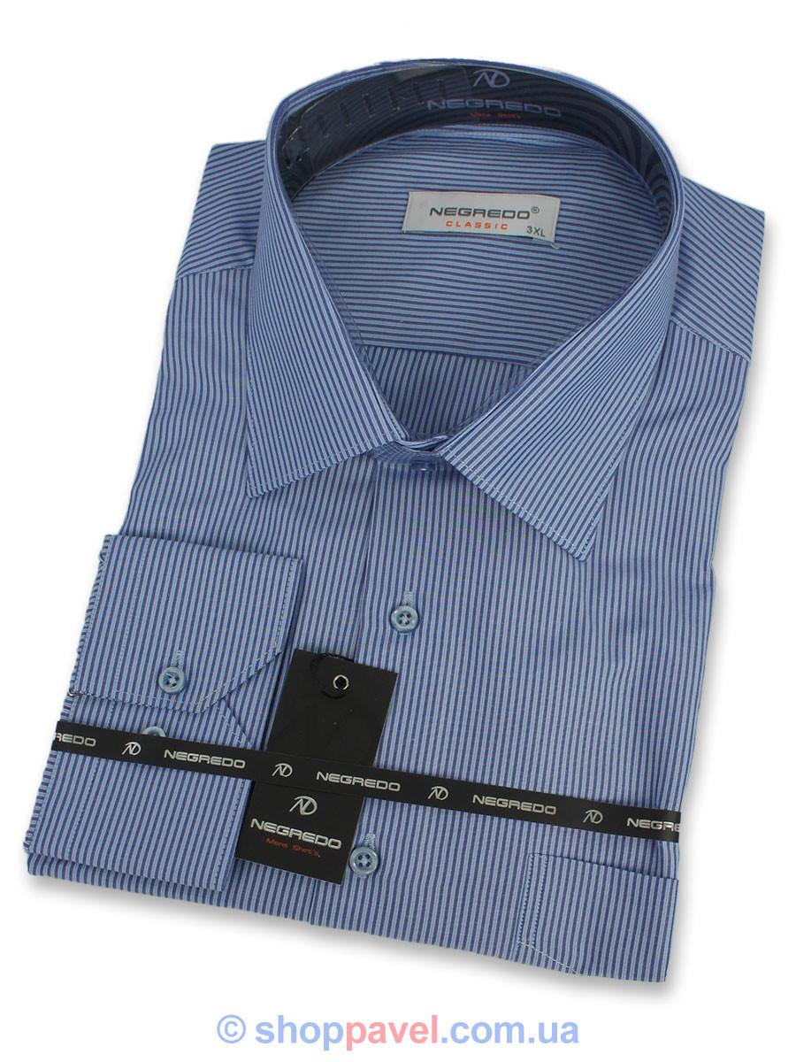Рубашка комбинированная Negredo Classic 0330 В большого размера