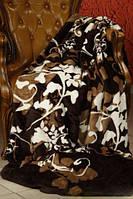 Плед из микрофибры Виноград темный,160*210, 200*220, Польша