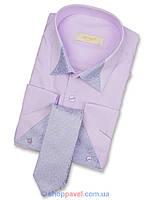 Рубашка мужская под запонку Negredo 0390