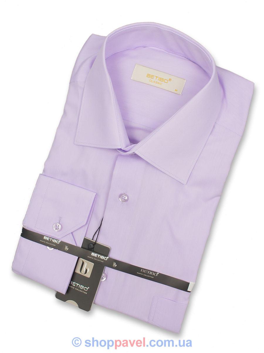 Классическая рубашка Negredo 31082 Сlassic сиреневого цвета