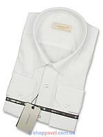 Классическая мужская рубашка в белом цвете
