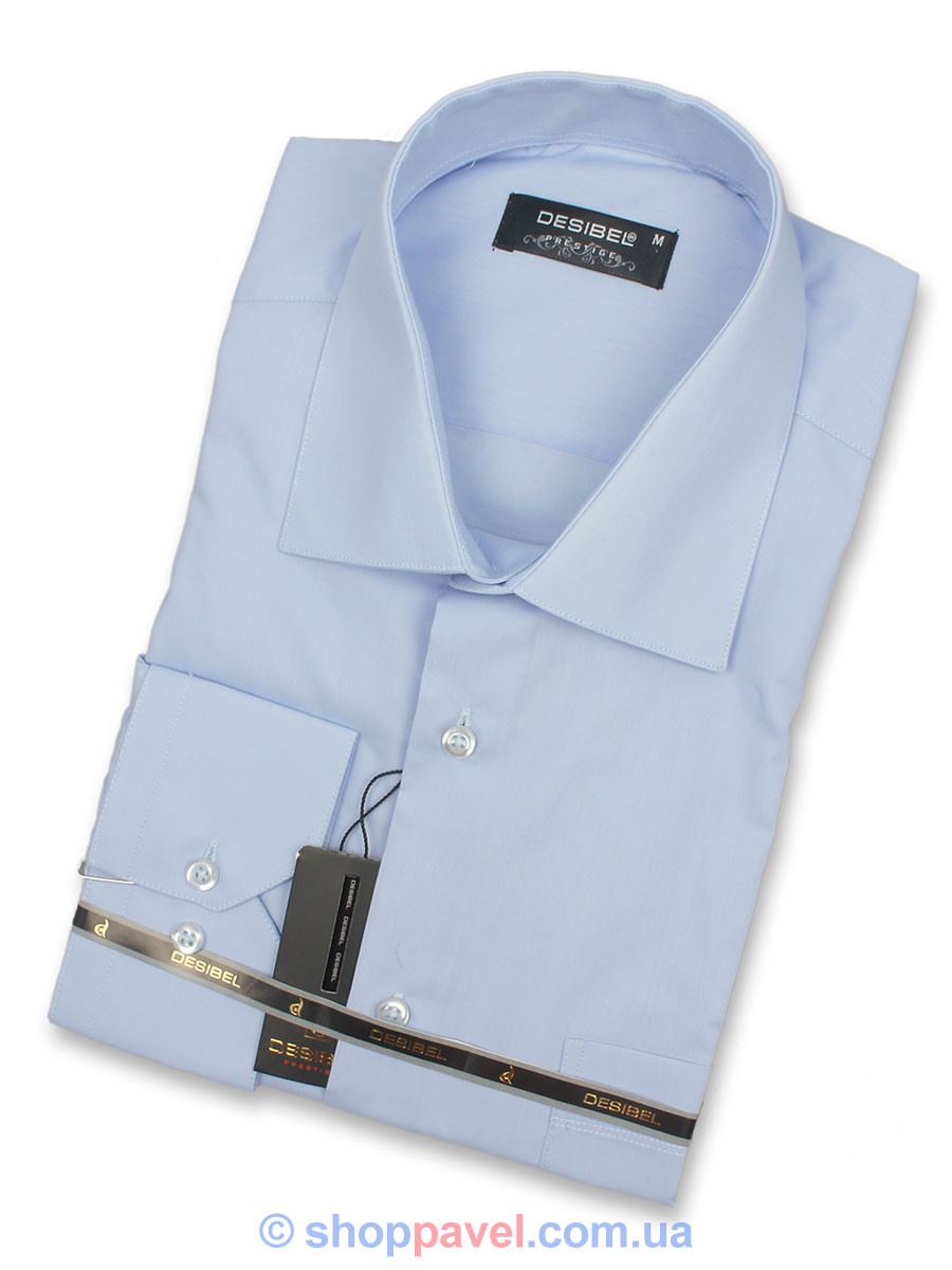 Сорочка чоловіча Negredo 31016 Сlassic класична блакитна