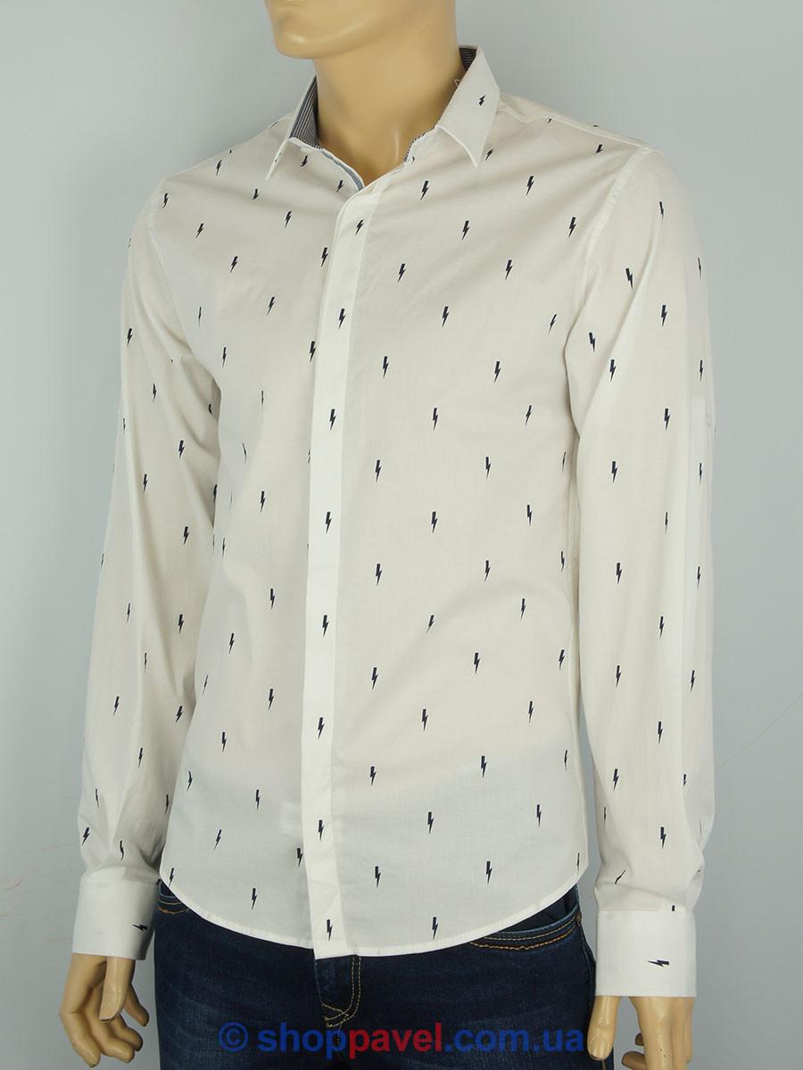 Мужская рубашка в стиле Paul Swith EGU-3343