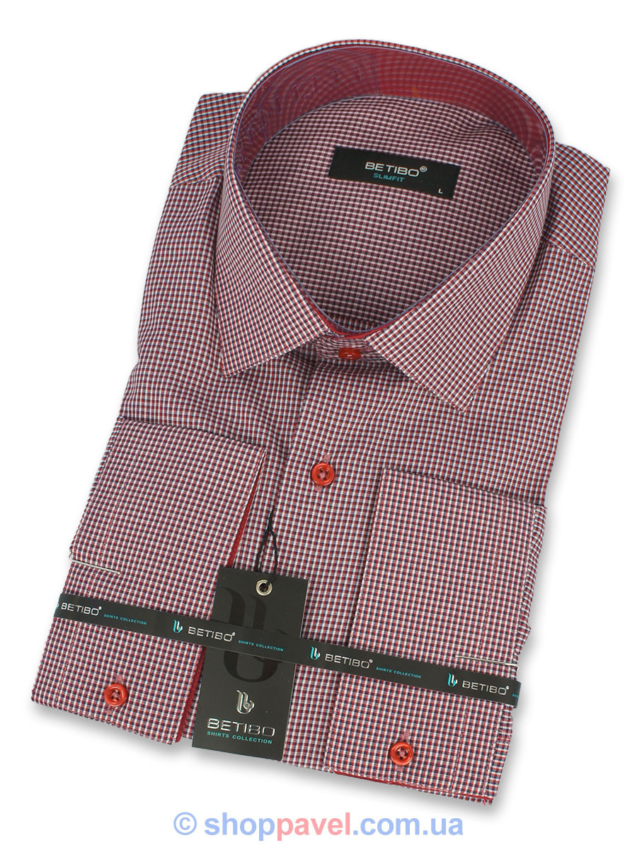 Рубашка мужская Betibo Slim 0310 Н