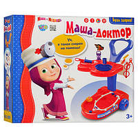 Игровой набор доктора Маша и Медведь MM 0078