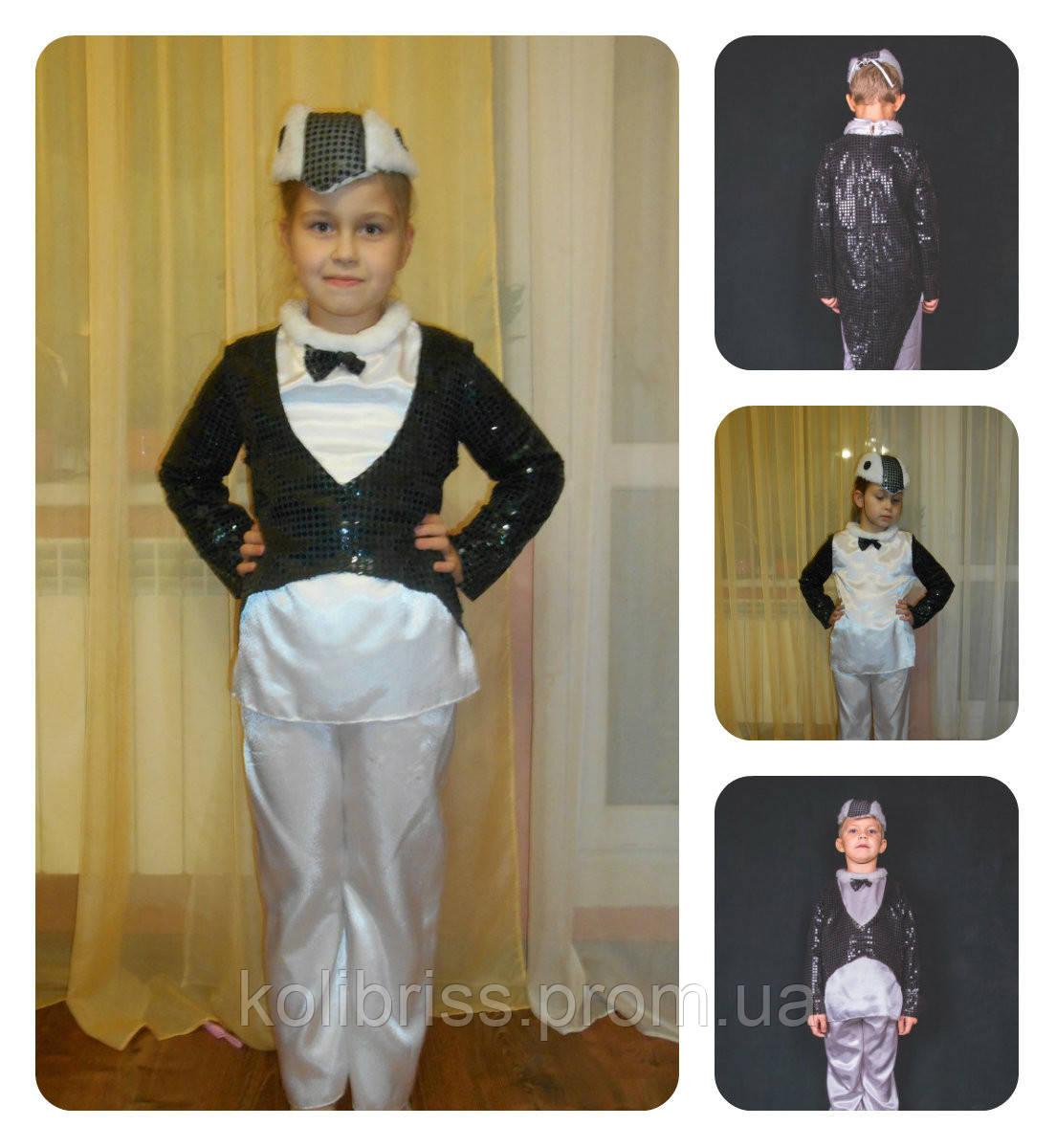 Карнавальный костюм пингвин прокат. Костюм  гламурный пингвина прокат
