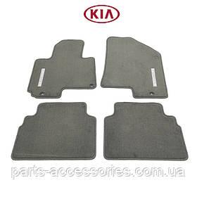 Kia Sportage 2010-13 коврики велюровые серые Новые Оригинал