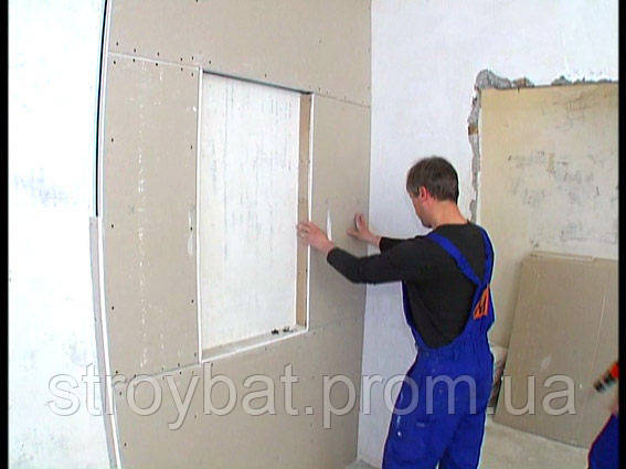 Гіпсокартон стіновий 2,5 м