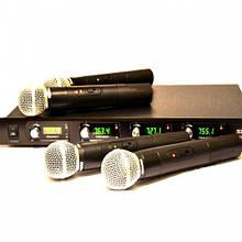 Радиосистема Shure  4 микрофона