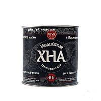 VIVA хна для биотату и бровей 30г черная