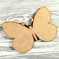Деревянная заготовка-бабочка (105*108*2мм)