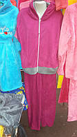 Женский флисовый костюм для дома