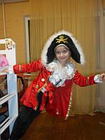 Костюм шикарного пирата, пират прокат киев, фото 1