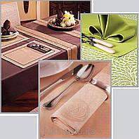 Скатерть и салфетки ресторанные  пошив на заказ