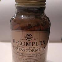 Solgar, В-комплекс с витамином С, стресс формула 250табл