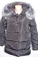 Женская куртка фабричный Китай  зима 2016/2017 чернвя