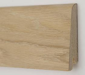 Плінтус дерев'яний (шпон) Kluchuk Neo Plinth Дуб шліфований 100х19х2200 мм.
