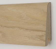 Плинтус деревянный (шпон) Kluchuk Neo Plinth Дуб шлифованный 100х19х2200 мм.