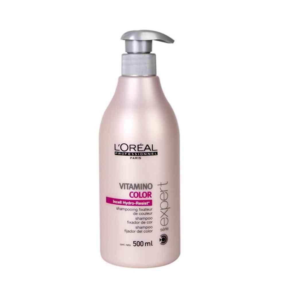 Шампунь защита и сохранения цвета окрашенных волос.500 мл L`Oreal Professionnel Vitamino Color A-OX Shampoo