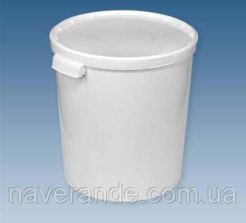 Емкость пищевая пластиковая 32 л (Бродильный чан)
