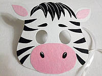 Карнавальная маска Зебры