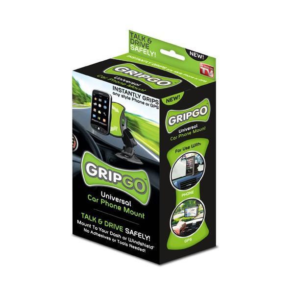 GripGo - универсальный автомобильный держатель мультимедийных устройств