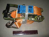 Стяжка груза, 3t. 50mm.x6m.(0.5+5.5) пластик. ручка  DK-3914