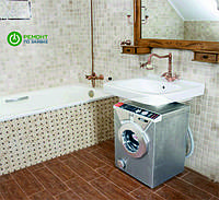 Экономия места с новыми стиральными машинами!