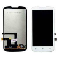 Дисплей (экран) для Lenovo A505, A560 + с сенсором (тачскрином) White