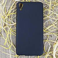 Чехол-крышка для HTC Desire 728G Чёрный Silicon