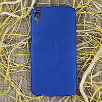 Чехол-крышка для HTC Desire 828 Голубой Silicon
