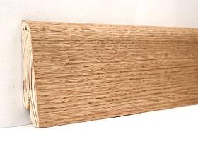 Плінтус дерев'яний (шпон) Kluchuk Neo Plinth Дуб натуральний 100х19х2200 мм.