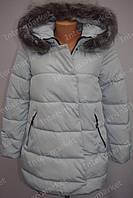 Женская куртка фабричный Китай  зима 2016/2017 белая