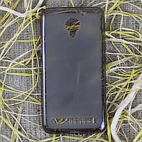 Чехол-крышка для Lenovo Vibe C2 Power Чёрный/Прозрачный Silicon