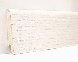 Плинтус деревянный (шпон) Kluchuk Neo Plinth Дуб белый 100х19х2200 мм.