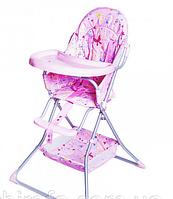 Стульчик для кормления Baby Tilly BT-HC-0004 розовый***