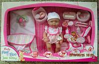 Кукла-пупс 40см 02911 интерактивный с аксессуарами