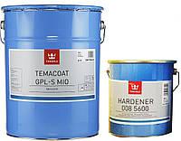 Эмаль эпоксидная TIKKURILA TEMACOAT GPL-S MIO износостойкая, серый графит, 16+4л