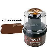 Крем-блеск для обуви Anti-Statik Silver 50ml банка пластмассовая (коричневый)