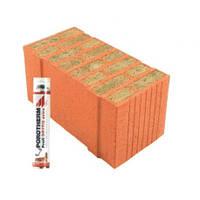 Блок Porotherm-50 Termo Dryfix с утеплителем