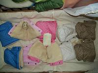 Муфта рукавичками в санки и коляску