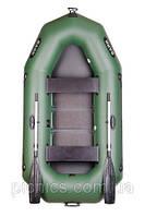 В-250С BARK надувная лодка ПВХ гребная двухместная реечный настил