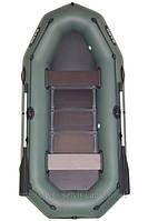 В-260Р BARK надувная лодка ПВХ гребная двухместная реечный настил + привальный брус