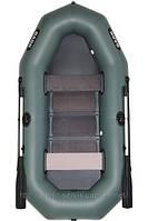 В-280 BARK надувная лодка ПВХ гребная трехместная реечный настил