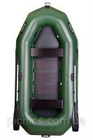 Надувная лодка ПВХ Bark В-300 Трехместная гребная, реечный настил, комплект