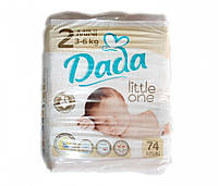 Подгузники Dada Premium 2 Mini (3-6 кг) 74 шт