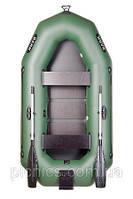 В-250СN BARK надувная лодка ПВХ гребная двухместная реечный настил + навесной транец