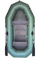 В-260 BARK надувная лодка ПВХ гребная двухместная реечный настил