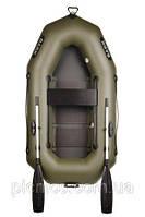 В-210С BARK лодка надувная ПВХ Барк одноместная гребная реечный настил + увеличенные баллоны